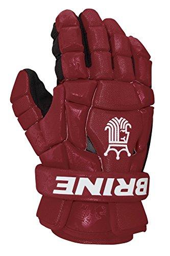 Brine King Superlight 2 Lacrosse Glove, Maroon, 13-Inch