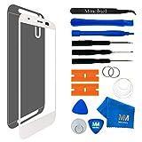 MMOBIEL Kit de Reemplazo de Pantalla Táctil compatible con Motorola Moto G2 2nd Gen (Blanco) Incluye Pantalla de Vidrio/Cinta Adhesiva de 2mm / Kit de Herramientas/Limpiador de Microfibra/Alambre Metálico