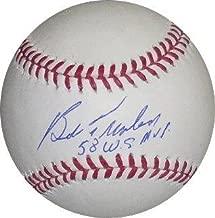 Bob Turley Signed Baseball - Official Major League 58 WS MVP - Autographed Baseballs