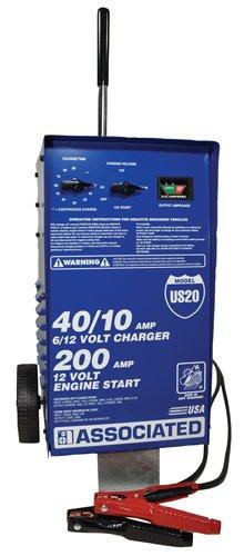 Associated Equipment US20 6/12 Volt Value Battery Charger