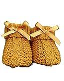 Dor Babysocken für Mädchen, 0-12 Monate, geflochten, in Geschenkbox, Socken mit Schleife für Neugeborene & Kleinkinder 12 Monate