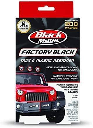 Black Magic 120164 Factory Black Trim Restorer product image