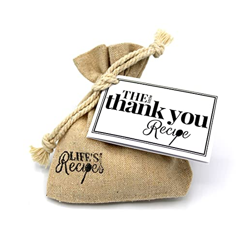 The Little Thank You Recipe is a Thoughtful, Unique Gift and Alternative to a Card, to Recognise and Appreciate Someone Who You Would Like to Thank and Show Your Gratitude.
