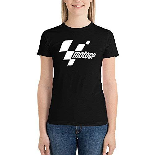maichengxuan Camiseta MotoGP de Manga Corta para Mujer