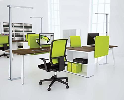 Realled LED Büro Stehleuchte Deckenfluter 50 Watt Tageslichtlampe für Home Office