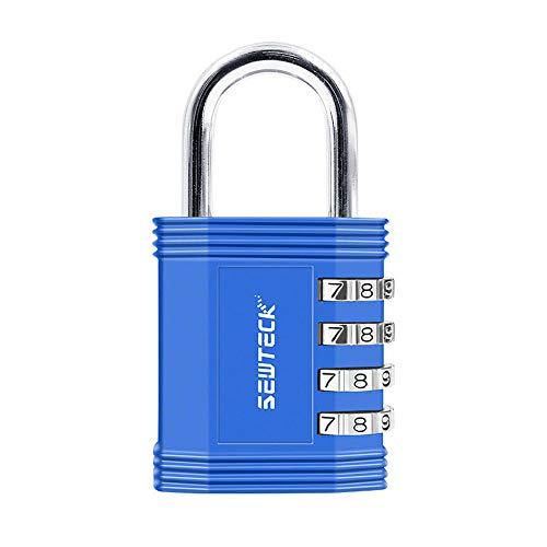 Gangkun Kleur zinklegering wachtwoordblokkering wachtwoord-hangslot veiligheid anti-diefstal wachtwoord kop