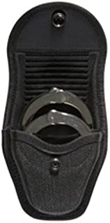 Bianchi Accumold 7317 Black Double Cuff Case Hook and Loop Closure