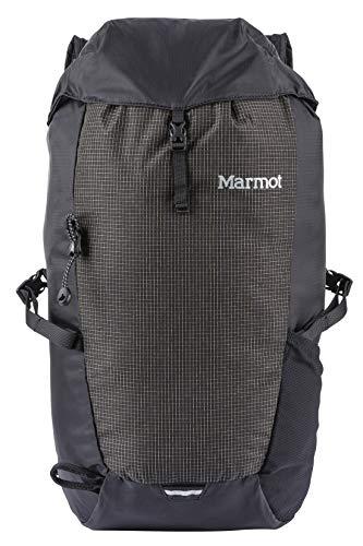 Marmot Kompressor Sac à Dos Loisir, 50 cm, 18 litres, Black/Slate Grey