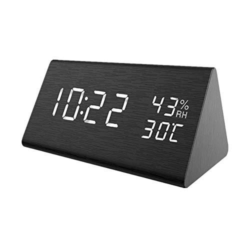 pinghub Despertador Digital con Alarma Despertador fornite Dormitorio Reloj Reloj led Los niños Reloj de Alarma Reloj de Mesa