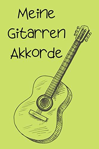 Meine Gitarren Akkorde: 720 leere Akkorde zum ausfüllen. Erstellen Sie ein neues Lagerfeuerlied und tragen Ihre Akkord Ideen gleich in das Handbuch ein.