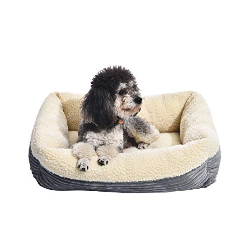AmazonBasics Rectangle Self Warming Pet Bed For Cat or Dog, 24 x 7 x 20 Inches