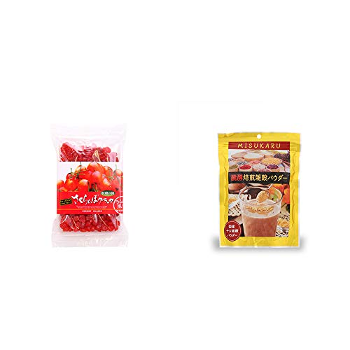 [2点セット] 収穫の朝 さくらんぼグラッセ ラム酒風味(180g)・醗酵焙煎雑穀パウダー MISUKARU(ミスカル)(200g)