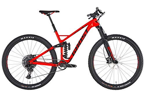 Ghost Slamr 6.9 LC U 29R Fullsuspension Mountain Bike 2019 (L/48cm, Riot Red/Jet Black)