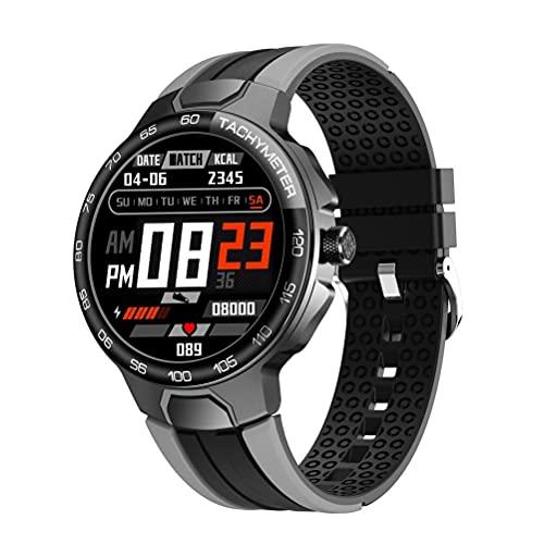 E15 Hombres Mujeres Reloj Inteligente IP68 Impermeable Pulsera Frecuencia Cardíaca y Presión Arterial Monitoreo Deportes Reloj Inteligente