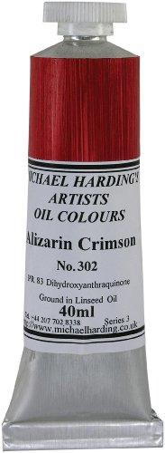 Michael Harding 40-Milliliter Tube Oil Paint, Napthol Red