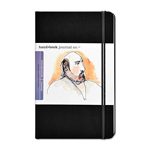 Unbekannt Global Art Zeichenblock/Zeichenheft/Skizzenbuch, Ivory Black, Large Portrait