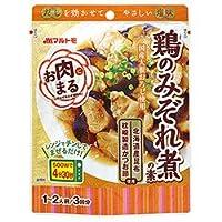 マルトモ お肉まる 鶏のみぞれ煮の素 (40g×3袋)×10袋入×(2ケース)