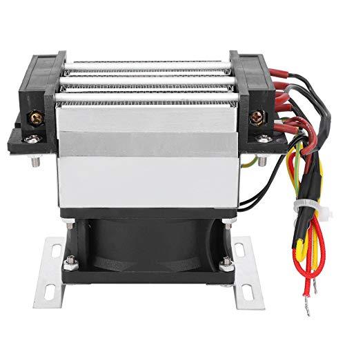 Deror Calentador de Ventilador PTC Componente de Calentamiento de Aire de cerámica Aislado Temperatura Constante AC220V 500W