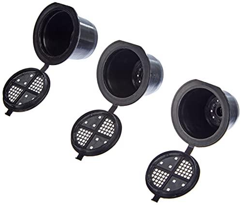 Scan Part 2790000467 Coffeeduck Die nachfüllbare Kapsel kompatibel für Nespresso - Maschinen, 3 Stück