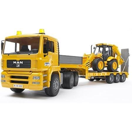 bruder(ブルーダー) MAN トラック&JCBバックホーローダー BR02776
