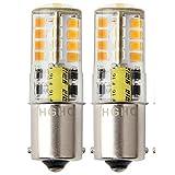 12V AC/DC LED Maisbirne wasserdichtes Birne, 5W Warmweiße 3000K 500LM für Outdoor-Landschaft Beleuchtung, etc. (2-Pack)