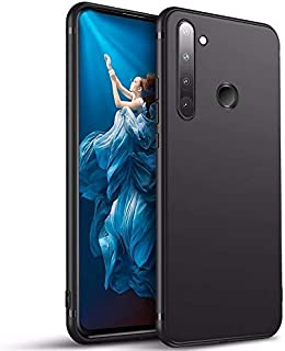 Realme 5 Pro Case Cover Back Soft Slim Flexible Shock Absorbent Protective Case Cover for Realme 5 Pro Matte Black by Nice...