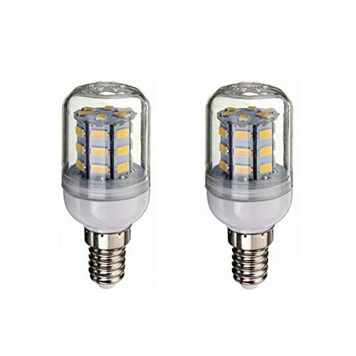 Bombilla LED Bombilla de bajo voltaje de 12V E14 LED, CC 12V-80V 4W, 260-300lumen de 360 grados for RV energía solar y la luz de rejilla, el paquete de 2 iluminante Para Garage Factory Warehouse Hig