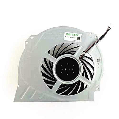 QUETTERLEE Replacement Internal Cooling Fan for Sony Playstation 4 Pro Ps4 Pro Fan CUH-7000 CUH-7XXX Cuh-7000Bb01 CUH-7115B CUH-7215B 7000-7500 6X29Frs Series G95C12MS1CJ-56J14 G95C12MS1AJ-56J14 Fan