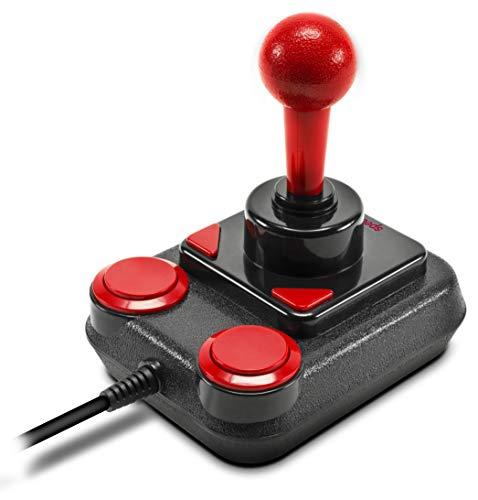 Speedlink COMPETITION PRO EXTRA USB Joystick - Anniversary Edition - Digitaler Joystick mit DirectInput - Mikroschalter - schwarz-rot