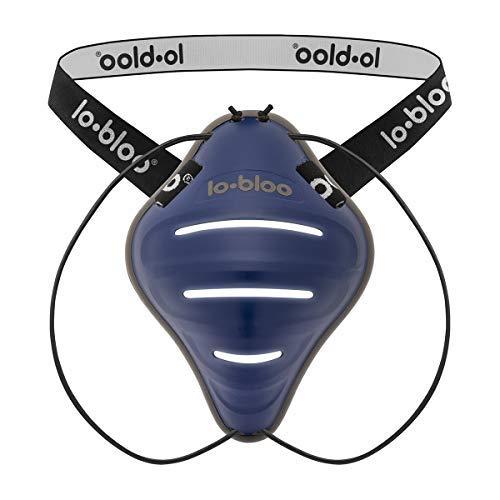 lobloo Free Male Patentierter Tiefschutz Suspensorium Unterleibschutz für aufrechte Aktivitäten wie Kickboxen, MTB, BMX, Cricket, Hockey, Baseball, Football. Größe für Jungen/Herren ab 13 Jahre