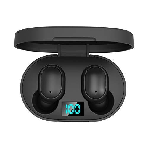 Zinniaya E6S Smart Digital Wireless Kopfhörer Wireless Sport Mini Headset Earbuds Wireless 5 HiFi-Sound Wasserdicht Kopfhörer