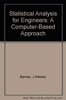 Statistical Analysis for Engineers and Scientists: A Computer-Based Approach/User's Manual to Accompany Statistical Analysis for Engineers and Scien
