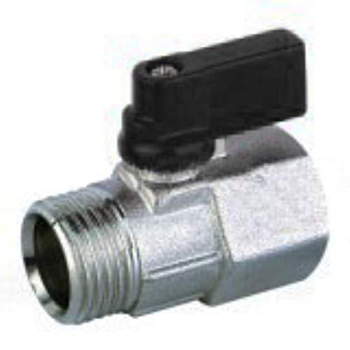 Universal - Mini valvula de esfera 1/2 h tubo 14mm. c/maneta