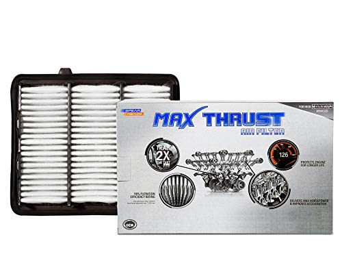 Spearhead Max Thrust Performance Engine Air Filter For All Mileage Vehicles - Increases Power & Improves Acceleration (MT-290)