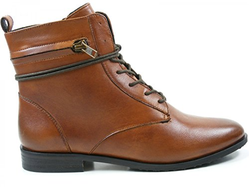 SPM Shoes & Boots Damen Stiefeletten Mont Lace Boot 17876157 02002 13170 braun 125397