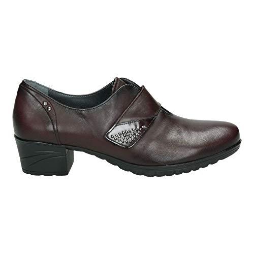 Zapatos fluchos f0267 señora Rojo