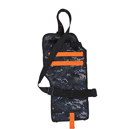 Yosoo Health Gear Sac à bandoulière pour Le Transport d'armes à feu, épaissir Le Sac de Stockage à Longue Bande avec étui arrière Ceinture réglable pour Accessoire de Jeu de Combat