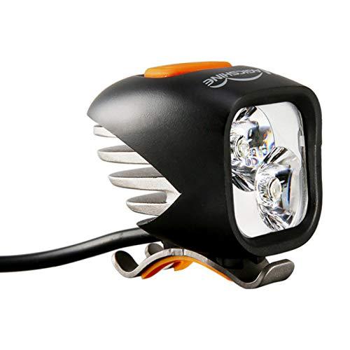 LWXXXA Juego de Luces para Bicicleta, Luces LED súper Brillantes, con Control Remoto inalámbrico, Luces Delanteras y traseras fáciles de Montar, se Adapta a Todas Las Bicicletas