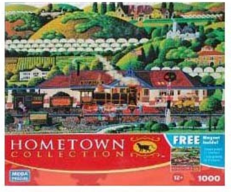 buen precio HOMETOWN COLLECTION Los Altos Train Station 1000 Piece Puzzle Puzzle Puzzle by Hometown  para mayoristas