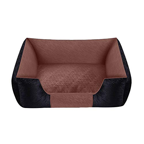 YAN FEI Dog Mattress, Non-sticky Comfortable Cushion Encircled Suitable For Small And Medium Dogs Warm Pet Mattress Lovely Warm Comfortable Dog Mat Pad Cat Mat Creative Pet Beds