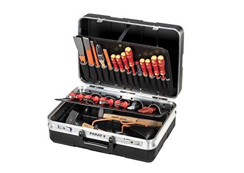 PARAT Elektro Koffer Bestückt 25-teilig Montagekoffer Elektro-Installation