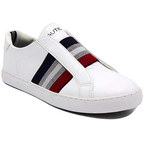 Nautica Steam Women Fashion Sneaker Casual Shoes (Lace-Up/Slip-on)