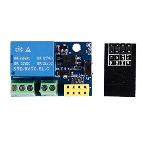 TOOGOO Modulo de Rele WiFi ESP8266 ESP-01S 5V Interruptor de...