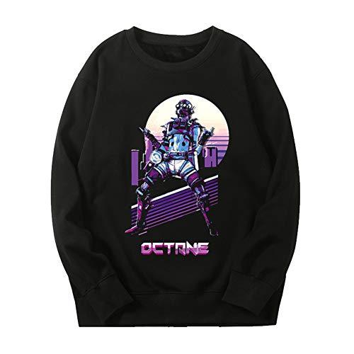 Apex legends PS4 エーペックスレジェンズ メンズ/レディース ロングスリーブ Tシャツ 長袖 シャツ スポーツ トップス 無地 通気性 ファッション ゆったり
