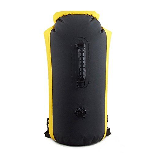 kadyn 35L Sac à dos Sac Dry Bag Sac de compression étanche Jaune jaune