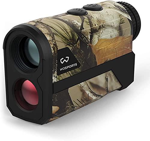 WOSPORTS 1200 Yards Hunting Rangefinder,Archery Rangefinder - Laser Range Finder...