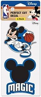WinCraft NBA Orlando Magic Disney Mickey Mouse Perfect Cut Decal (Set of 2), 4