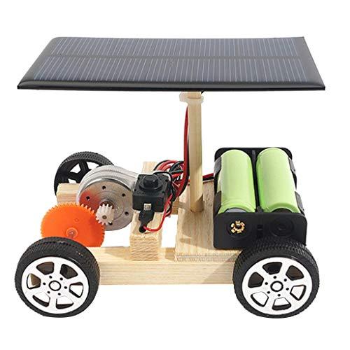 MERIGLARE Physikunterricht Solar Kids Car Modell Elektromotor Experiment, 5v
