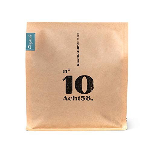 Espresso N°10 – Starker Kaffee-Blend – 70% Arabica mit 30% Robusta-Bohnen – speziell für Vollautomaten (750 GR)
