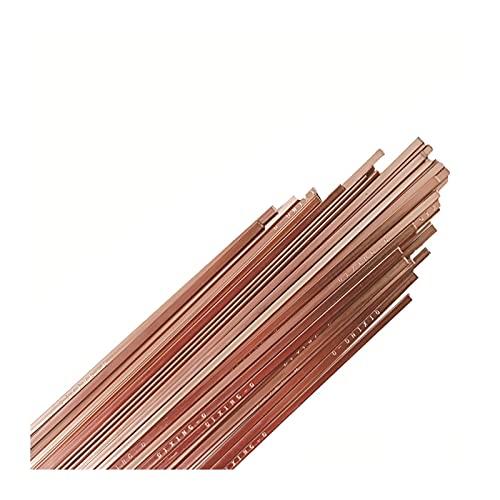 5/10 / 20pcs 500mm Barra de soldadura de latón Fósforo de soldadura de cobre de alambre de alambre Barra de soldadura sin necesidad de soldadura en polvo Barras de soldadura